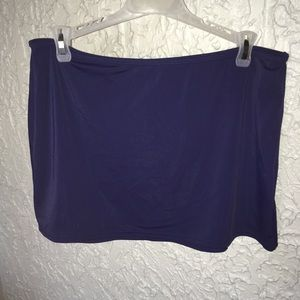 Size medium swim skirt